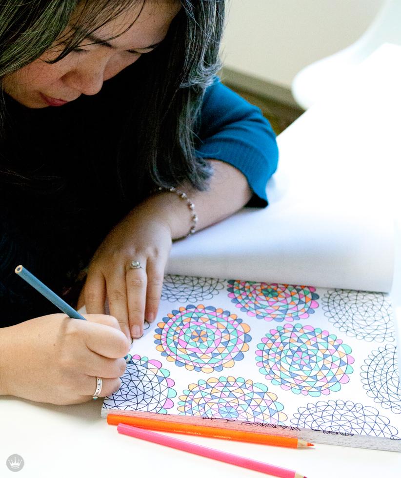 Crayola Coloring Book | artist Flora Chang | thinkmakeshareblog.com