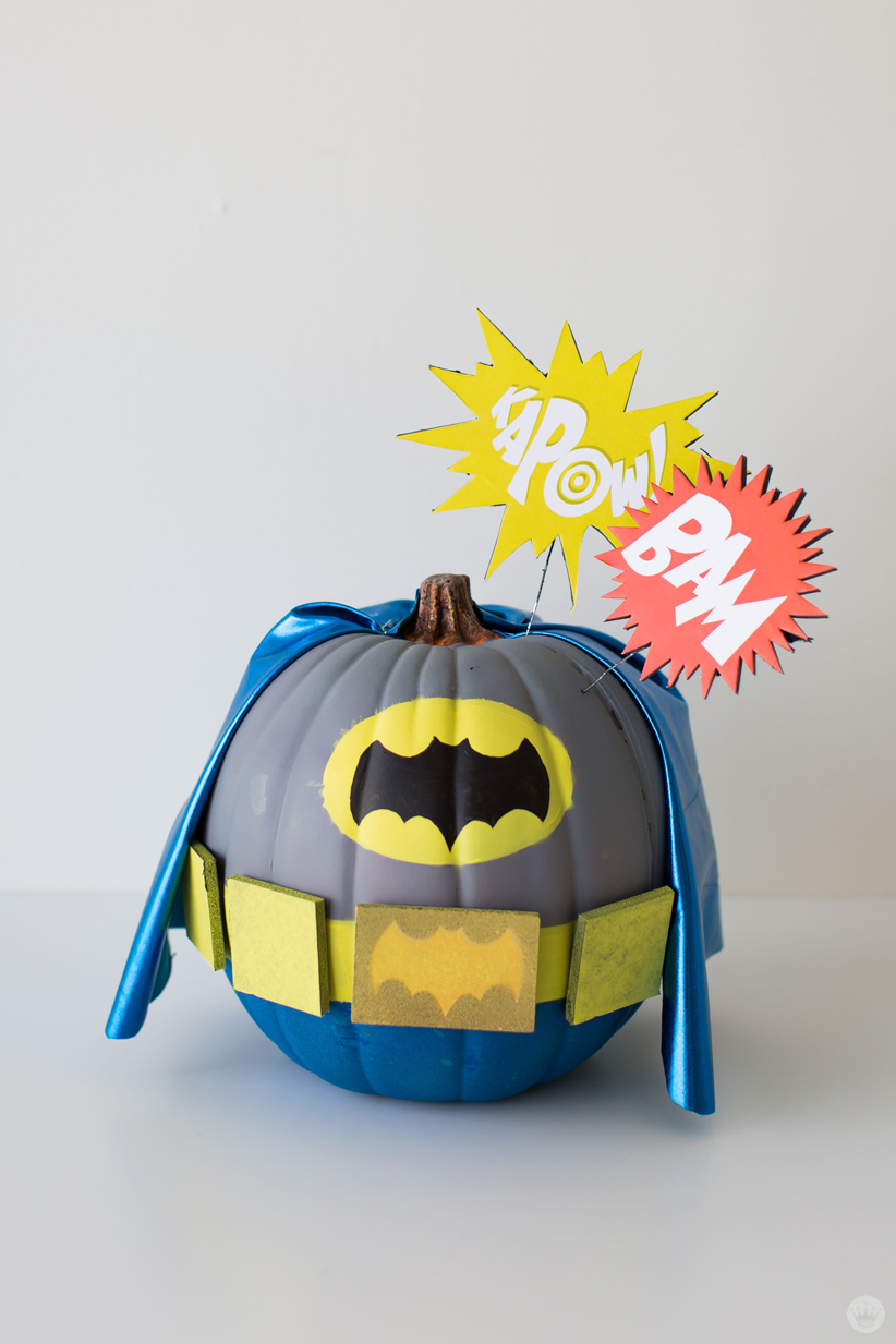 Halloween Decor With Character Movie Inspired Pumpkin