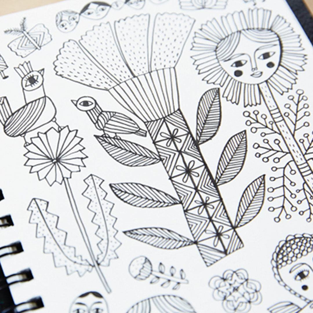 We love peeking into the sketchbooks of Hallmark artists Andhellip