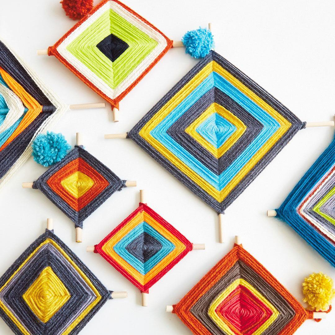 A fun colorful craft to do with your kids beforehellip