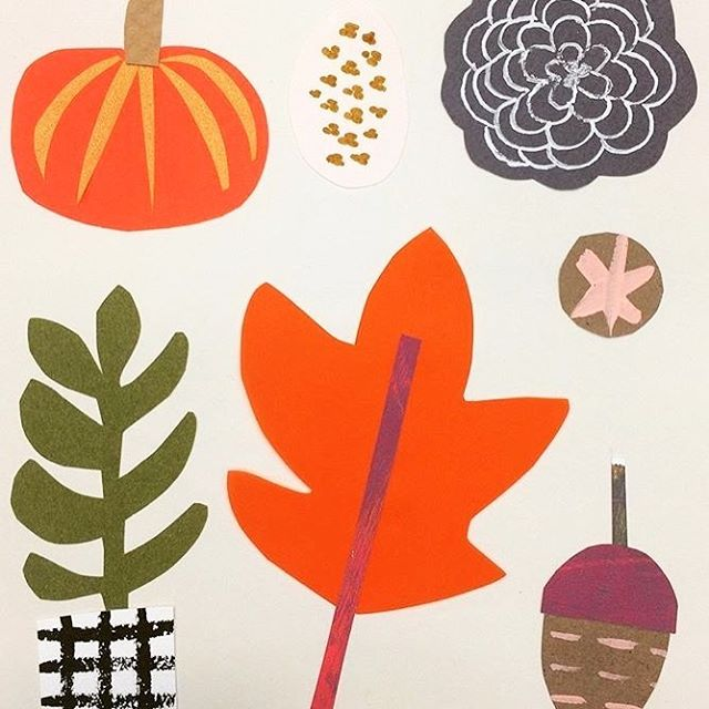 Fall is definitely in the air! lynnguinta cutpaper fall autumn