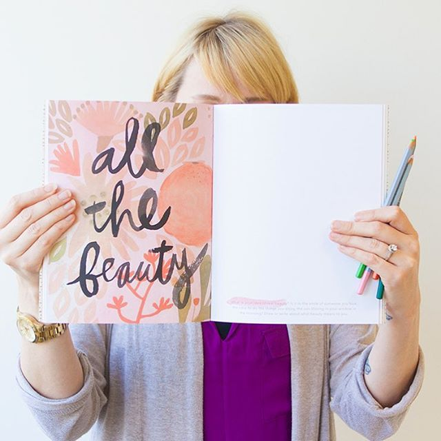 Guys! Were revealing ALL THE BEAUTY of our latest sketchbookhellip