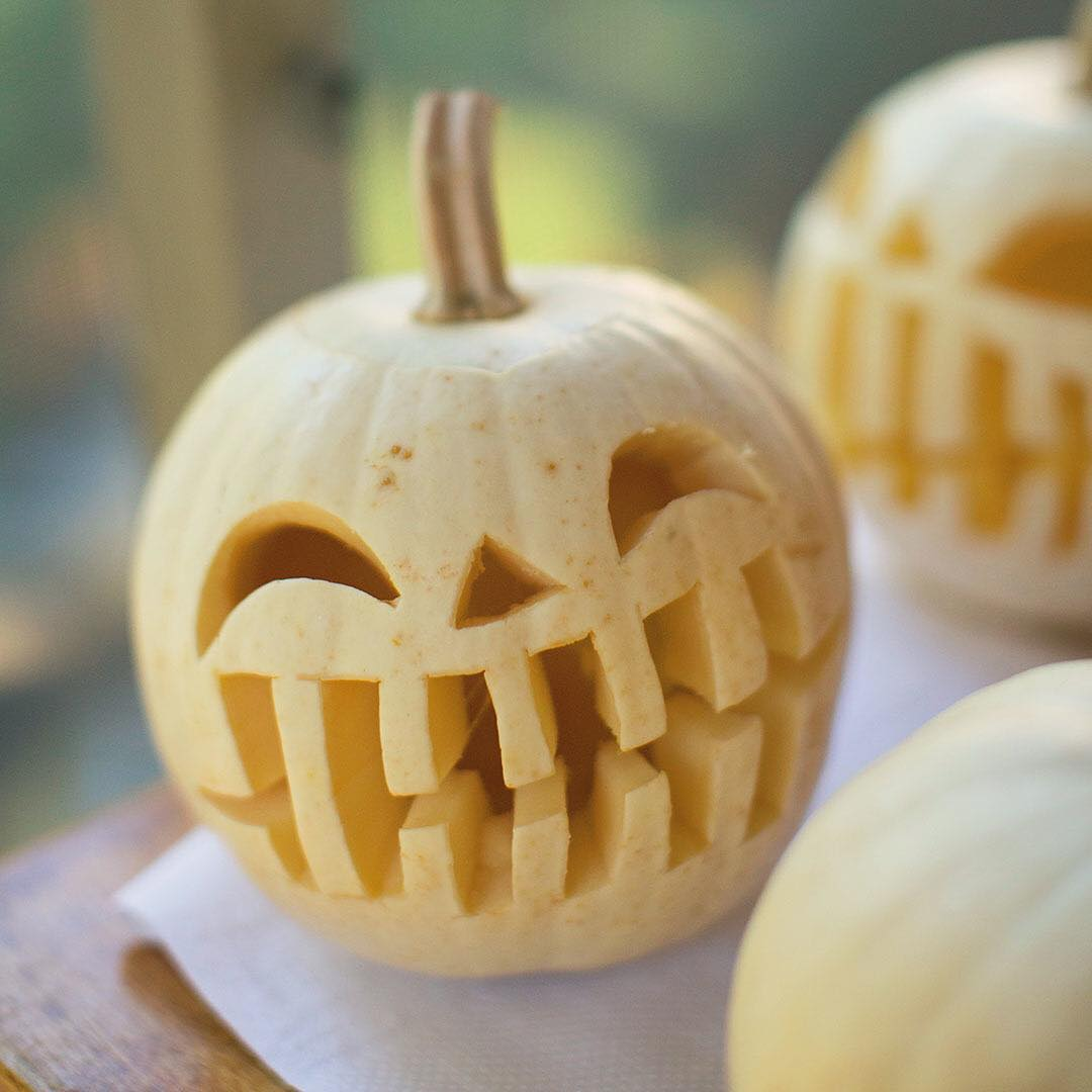 Only one week until Halloween Looks like someones excited! Pumpkinhellip