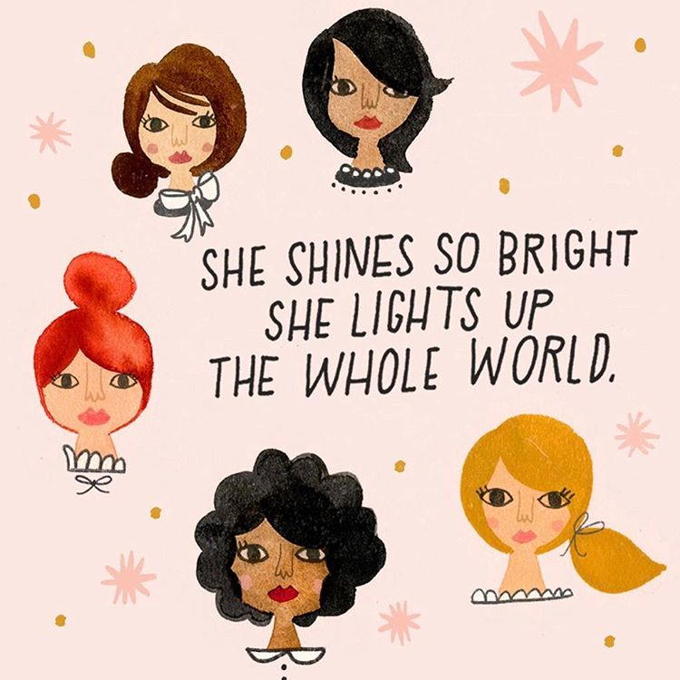 Heres to the ladies who shined their light to pavehellip