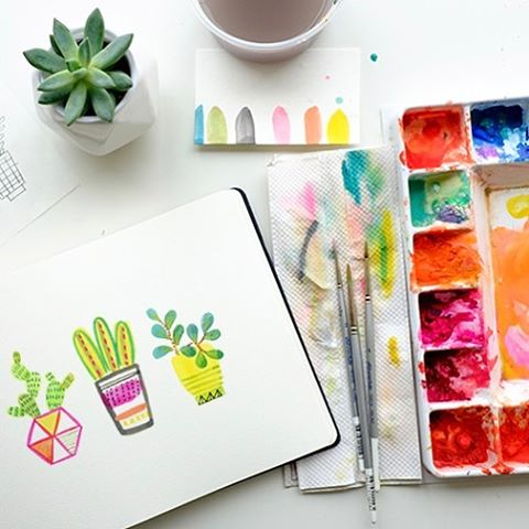 Learn how to paint these succulent cuties with hallmark Masterhellip