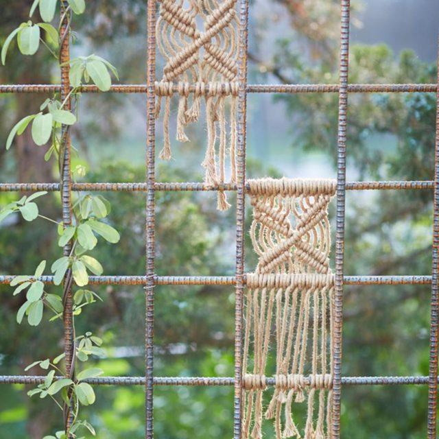Macram garden art?! Yes please! See all the lovely detailshellip
