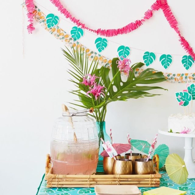 ITS A PARTY! We threw a chic summer luau withhellip