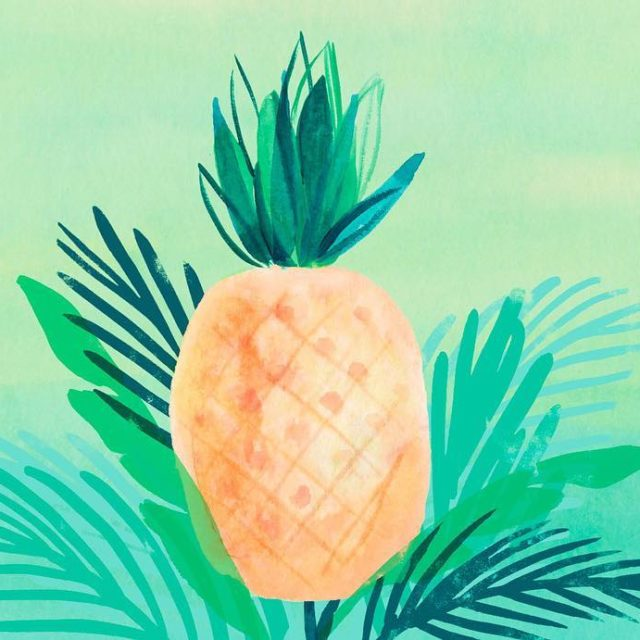 This months tropical wallpapers by hallmark artist marisolortega are hellip