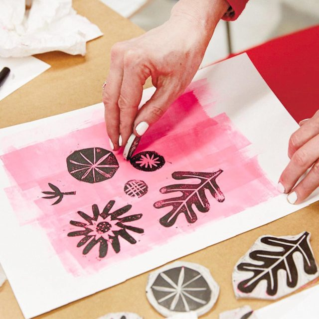 Block printing basics on the blog! Hallmark Designer Marisol Ohellip