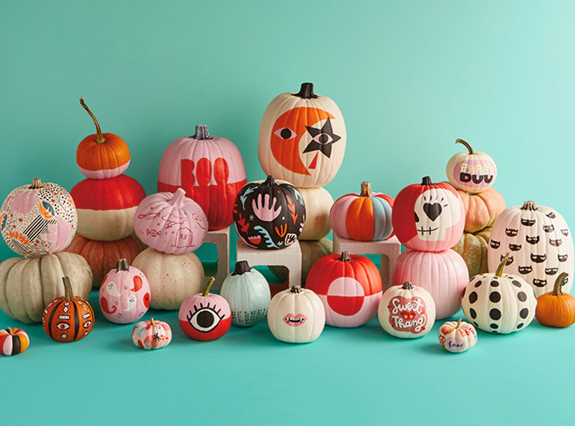 Pumpkin Decorating 2018 | thinkmakeshareblog.com