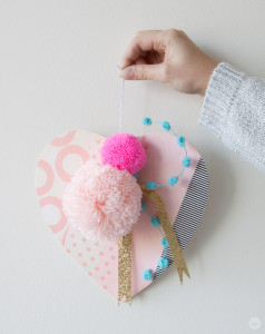 Displayable Valentine's Day heart | thinkmakeshareblog.com