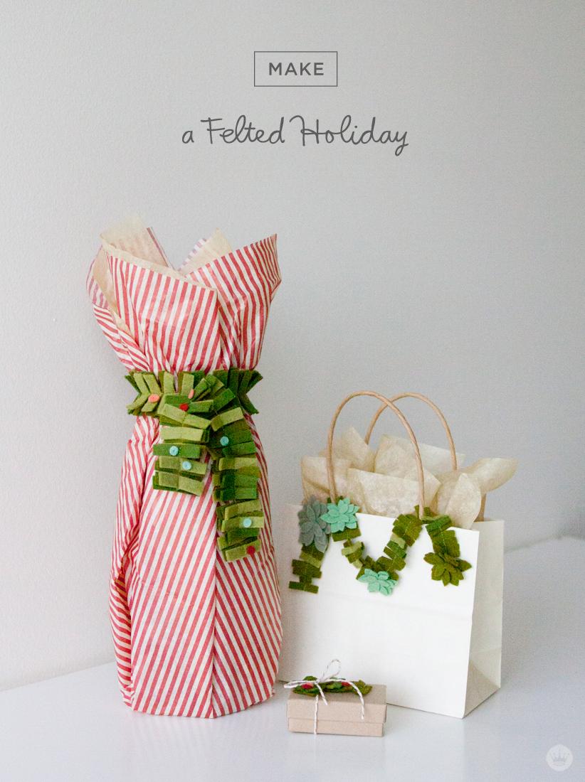 DIY felt gift attachments - Think.Make.Share.