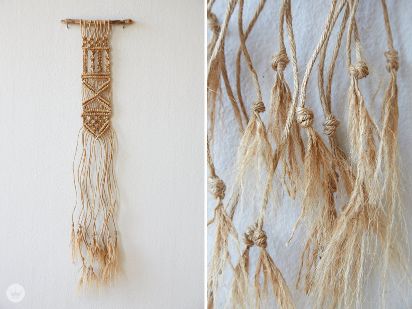 A Hallmark photo stylist teaches us how to macrame | thinkmakeshareblog.com