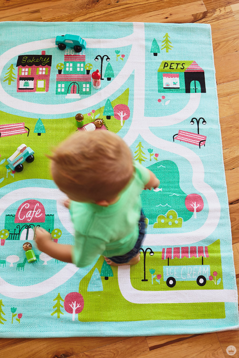 Hallmark's new Learn+Play+Discover toddler toys and play mats
