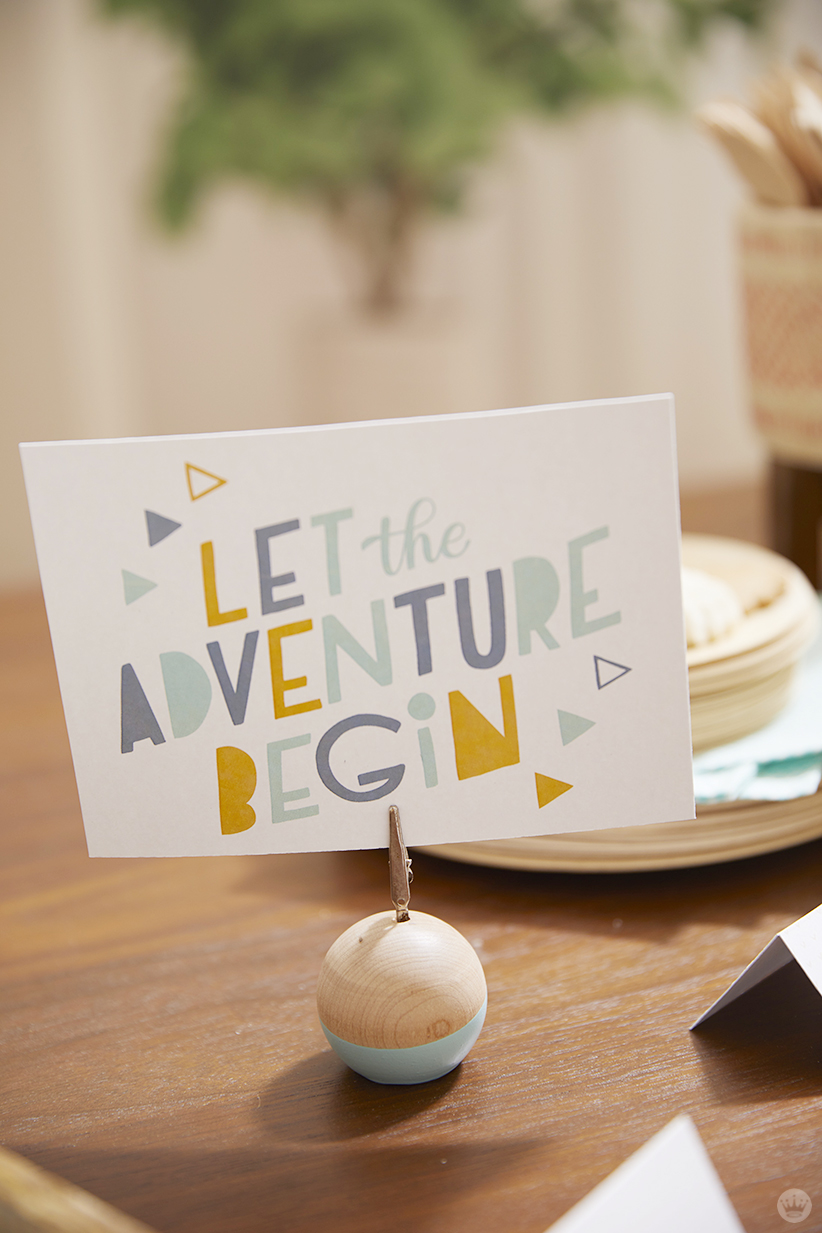 Let the Adventure begin printable design