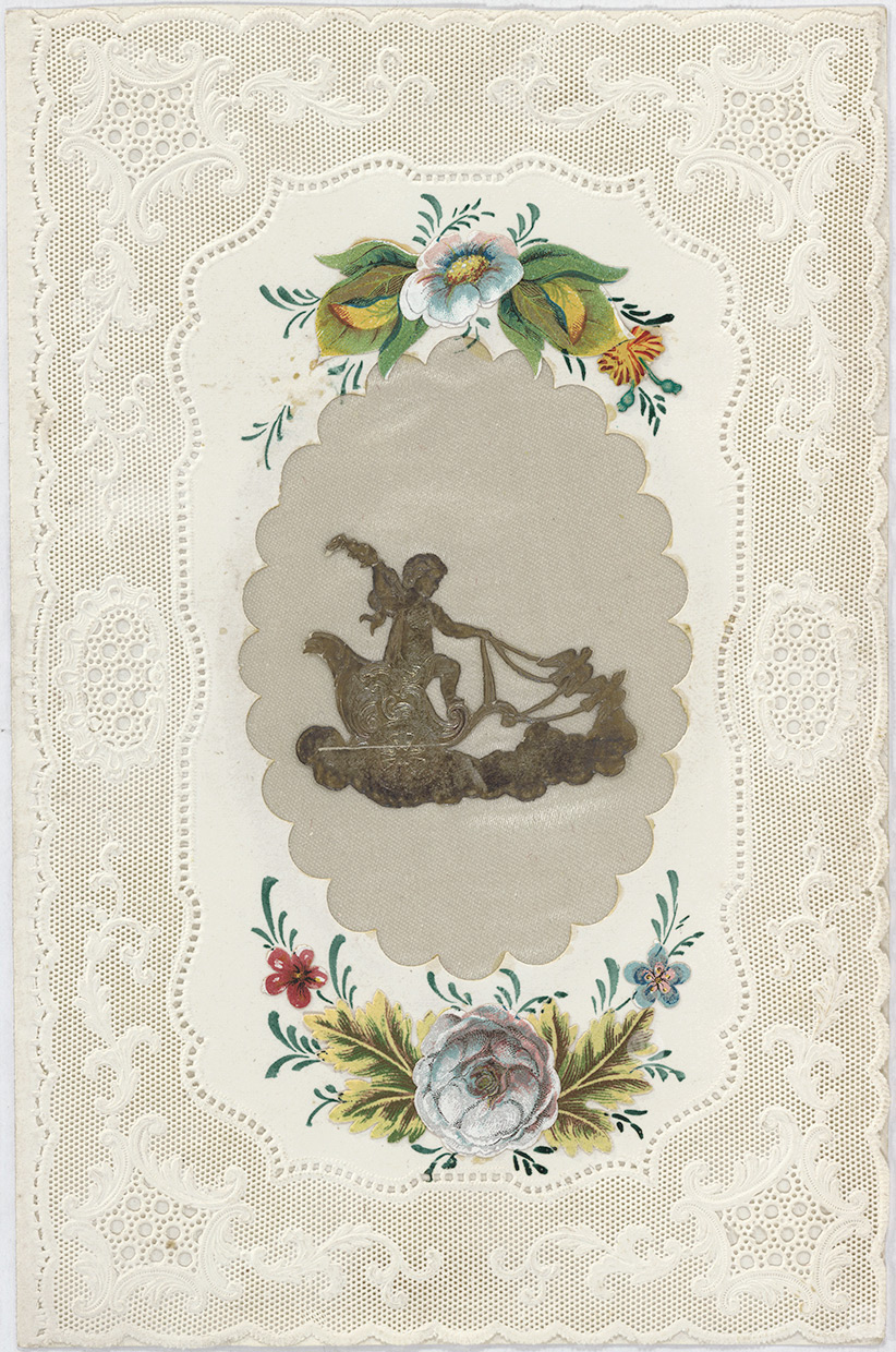 Original valentine designed by Esther Howland.