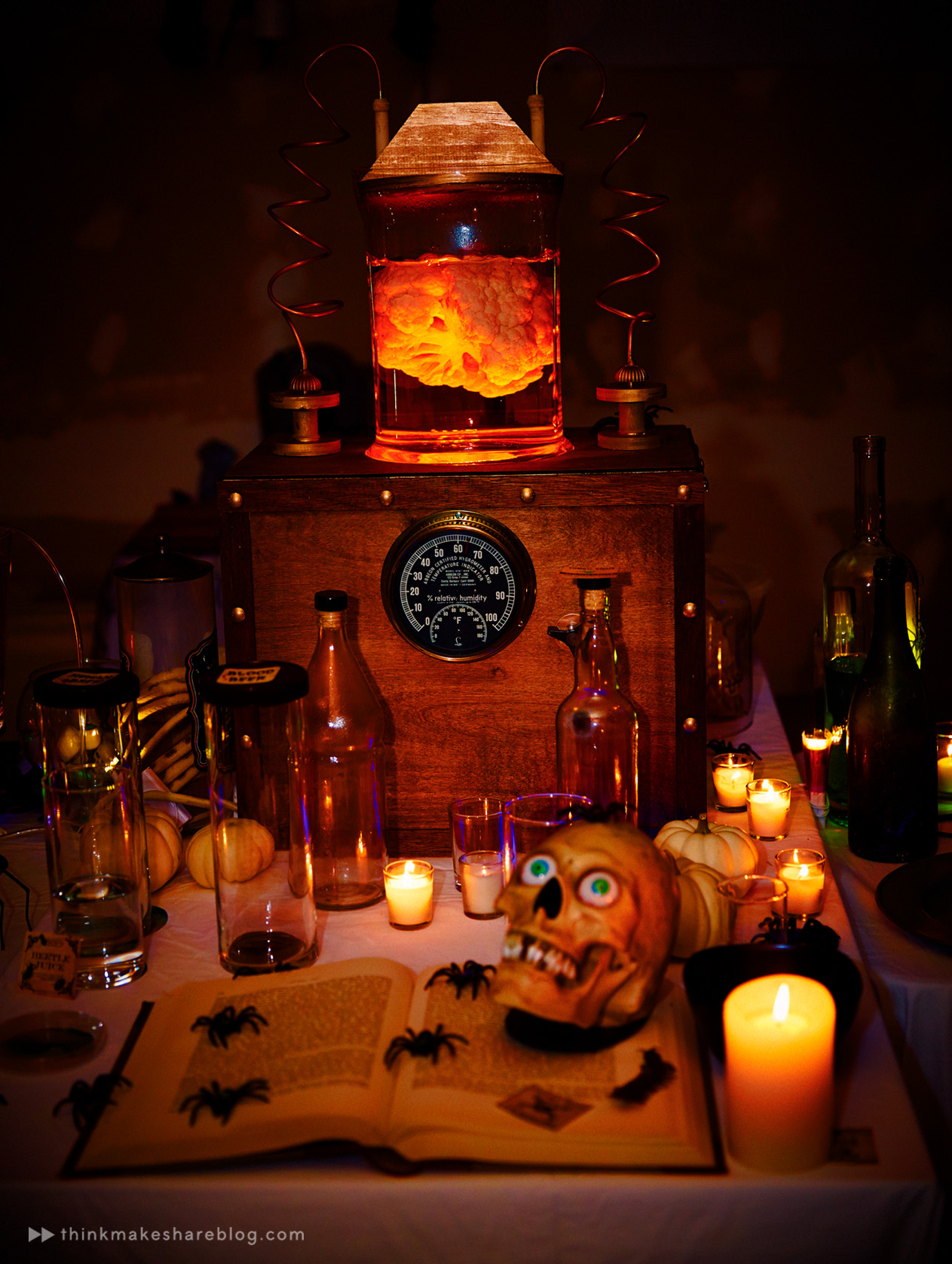 A Halloween party fit for a mad scientist - Think.Make.Share.