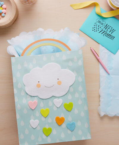 Baby Gift Wrap Ideas | thinkmakeshareblog.com