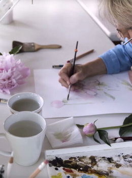 Why I create: Marjolein Bastin, wildlife watercolor artist