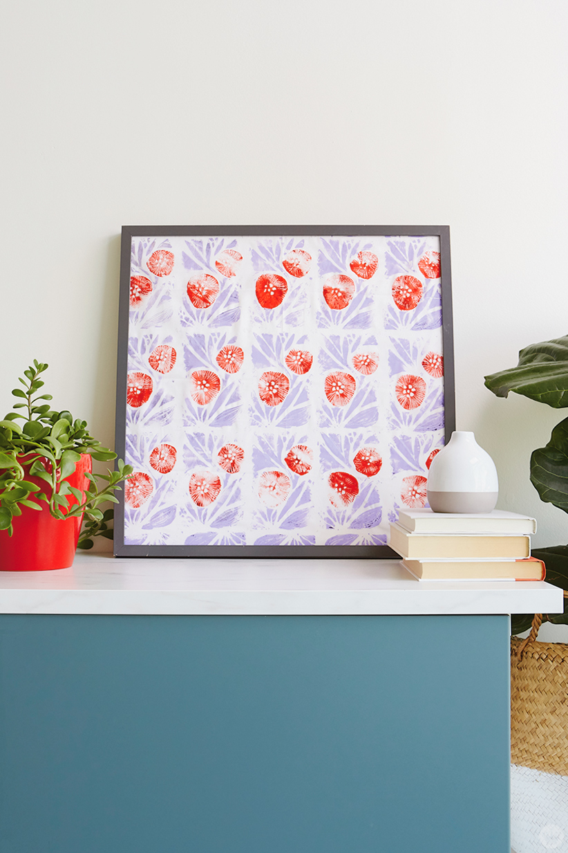 Framed DIY bandana
