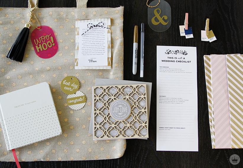 Bride To Be Gift Bag | thinkmakeshareblog.com