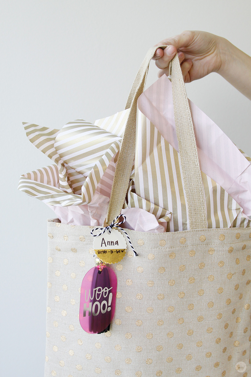 inspirational gift for a bride to be think make share