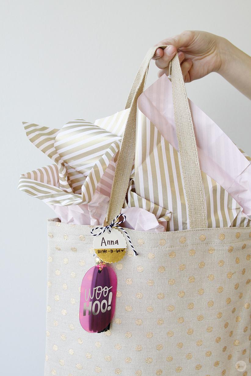 Bride To Be Gift Bag Thinkmakeshareblog