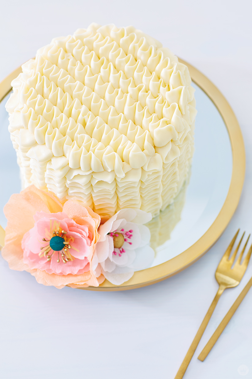 DIY cake toppers for weddings, showers, and fancy birthdays - Think ...