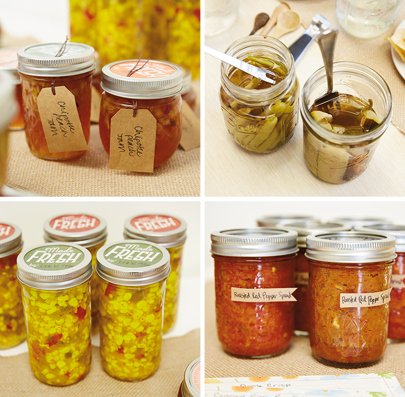 Canning Party | thinkmakeshareblog.com