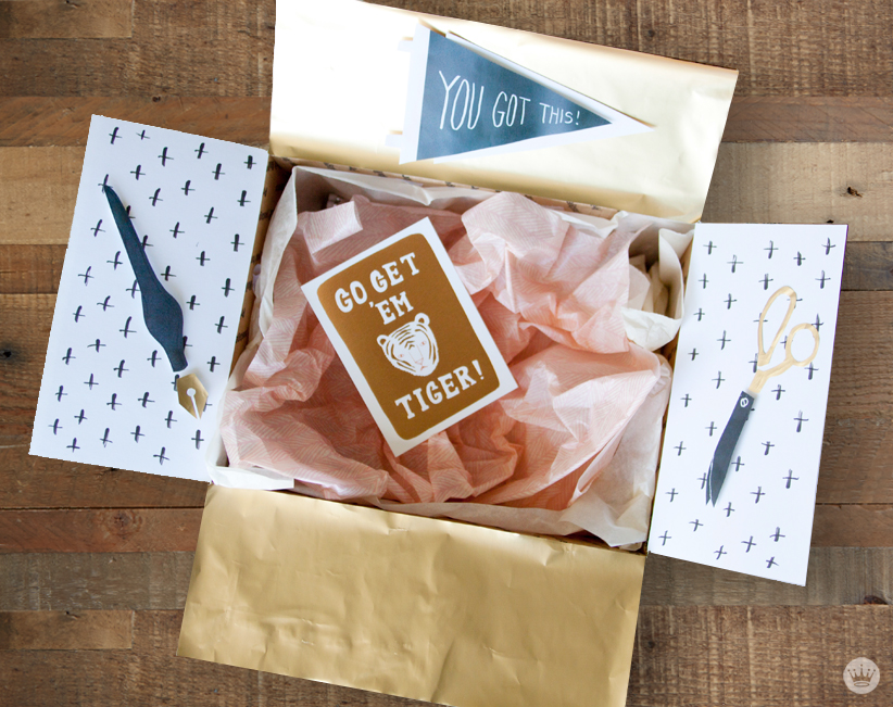 Care Package Ideas from Hallmark | thinkmakeshareblog.com