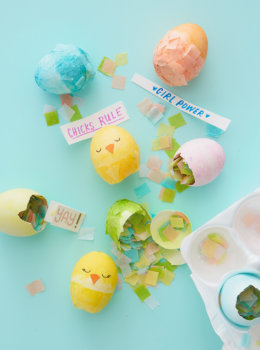 DIY cascarones: Make your own confetti-filled Easter eggs