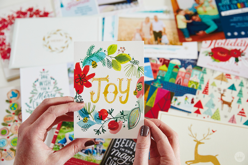 Holiday cards from Hallmark
