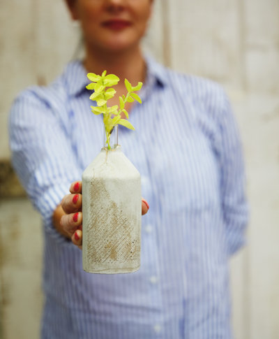 Concrete Vase Workshop | thinkmakeshareblog.com