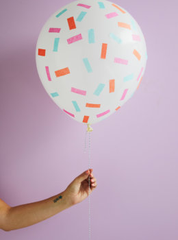 Dress up a party with easy, colorful DIY tissue paper confetti