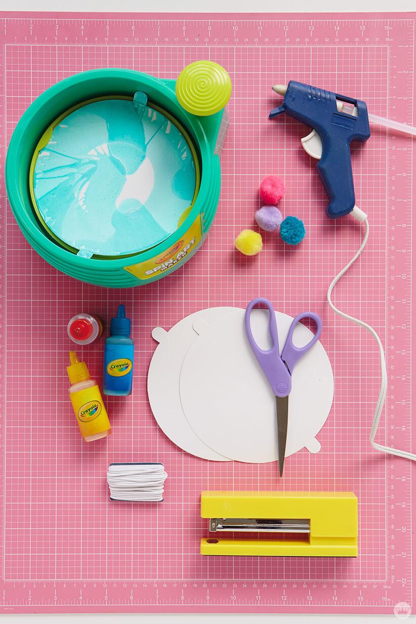 Crayola® Spin Art Maker and supplies
