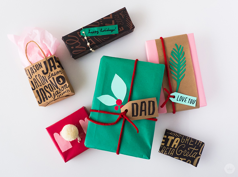 Creative gift wrap ideas from Hallmark artists - Think.Make.Share.