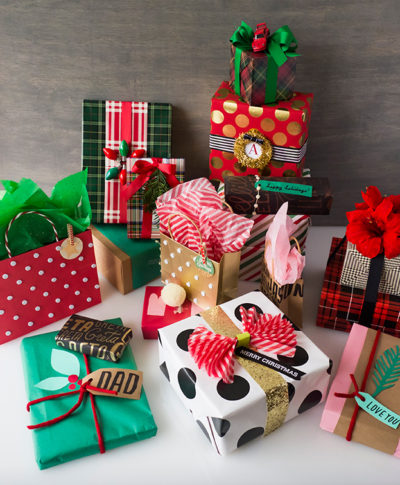 Christmas gift wrapping ideas creative art