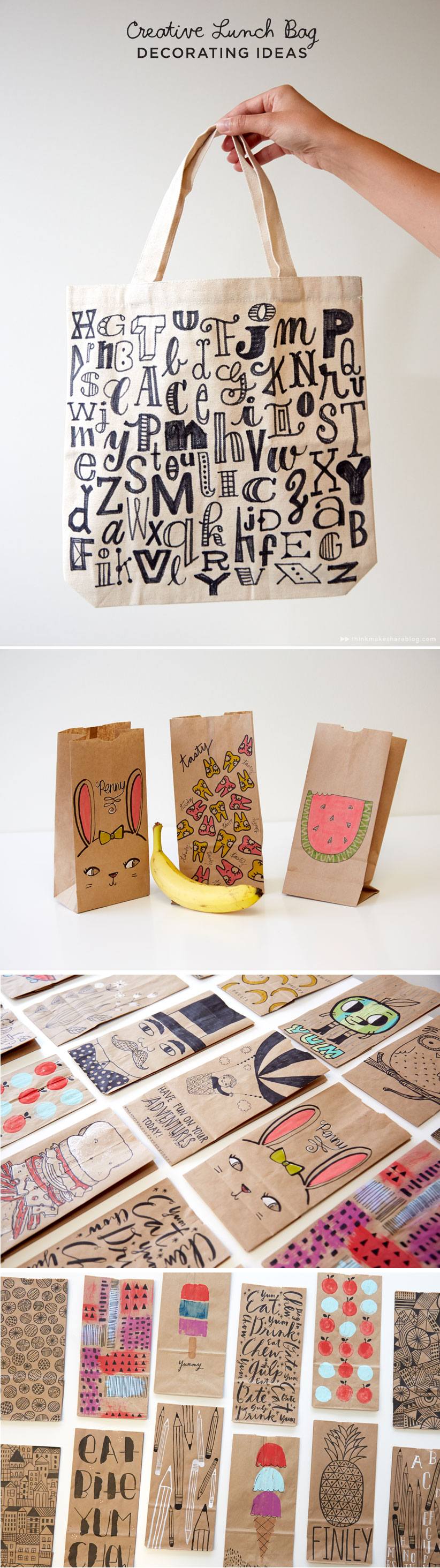 how to make lunch bags at home
