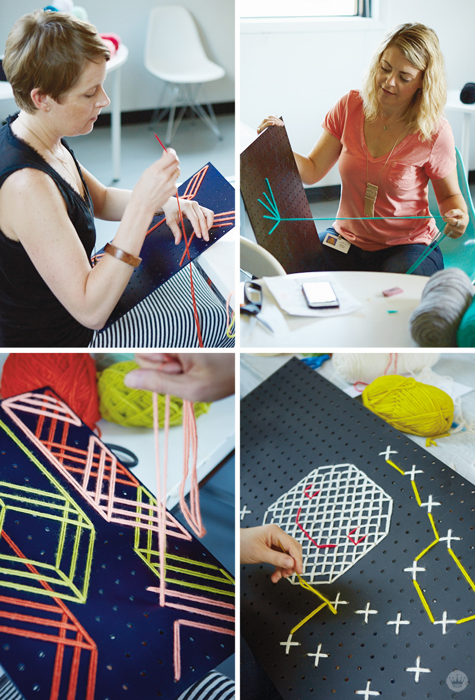 Cross Stitch Pegboards | thinkmakeshareblog.com