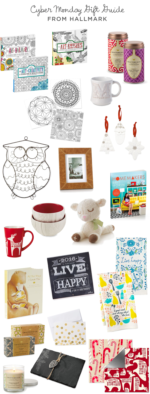 Cyber Monday Hallmark gift guide | thinkmakeshareblog.com