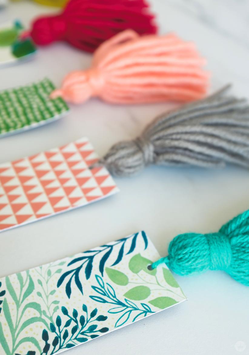 DIY Tassel Bookmarks
