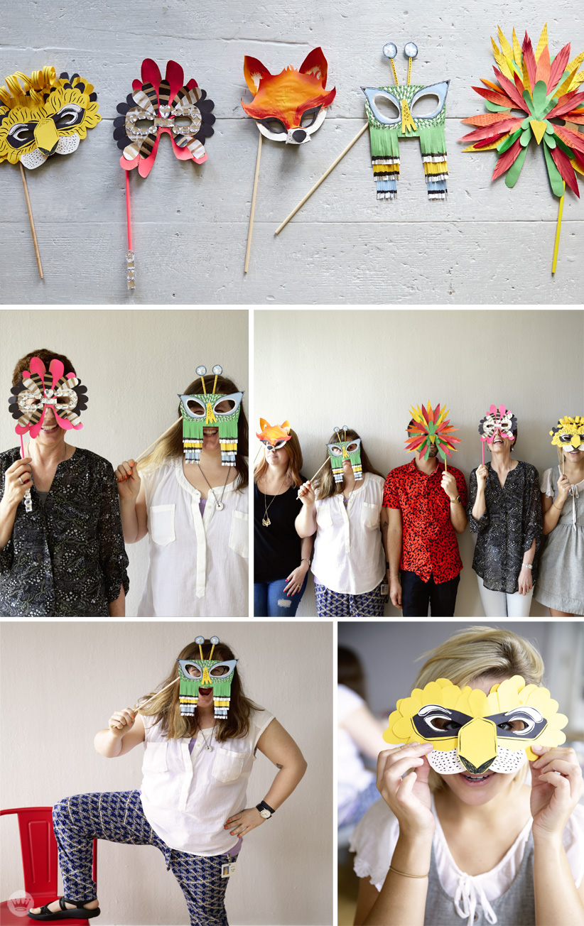 Make your own crafty Halloween mask - Think.Make.Share.