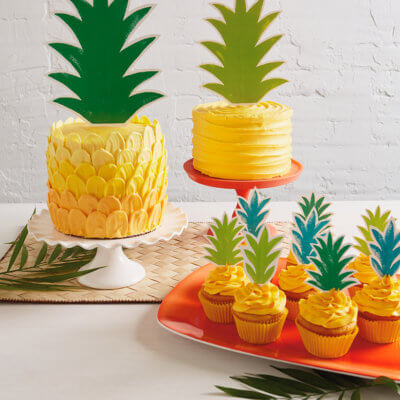 DIY Pineapple Cake | thinkmakeshareblog.com