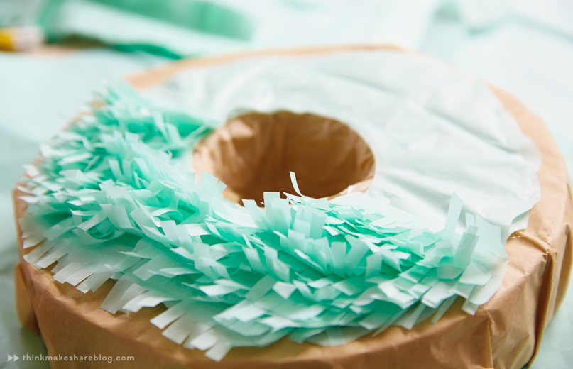 DIY Summer Pinatas | Donut | thinkmakeshareblog.com