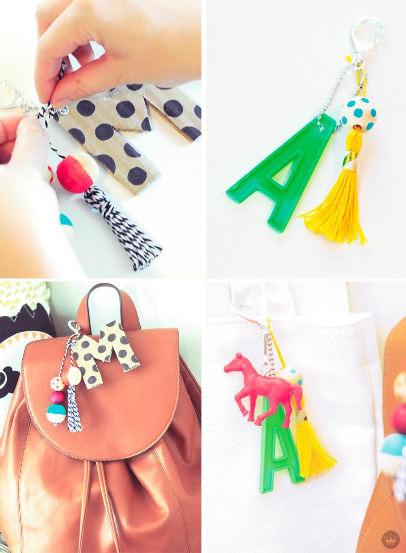 DIY keychains by Hallmark artists   thinkmakeshareblog.com