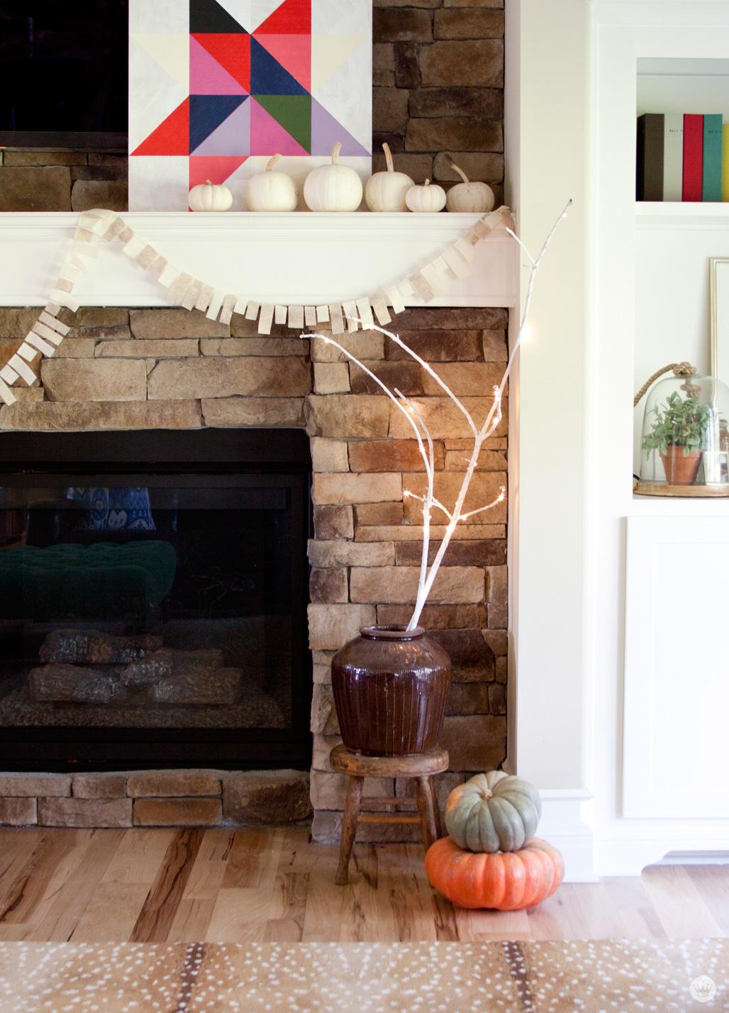 DIY Light Branch