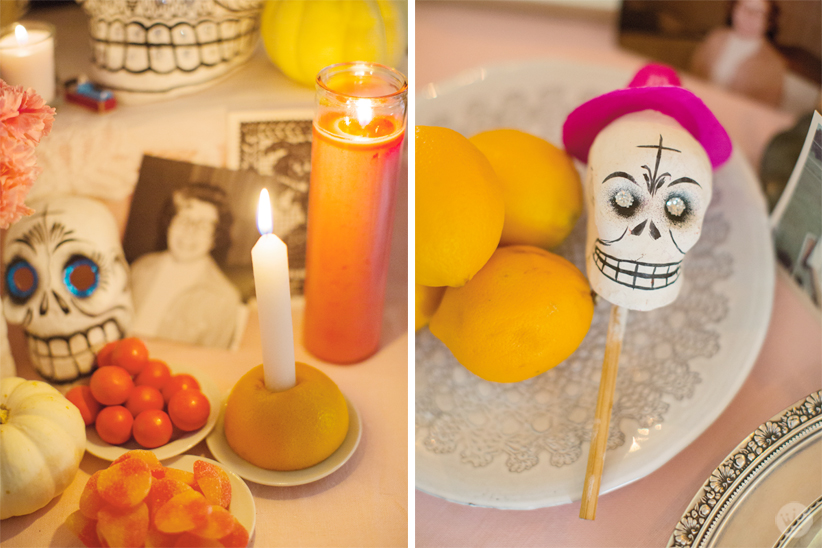 Day of the Dead Party | thinkmakeshareblog.com