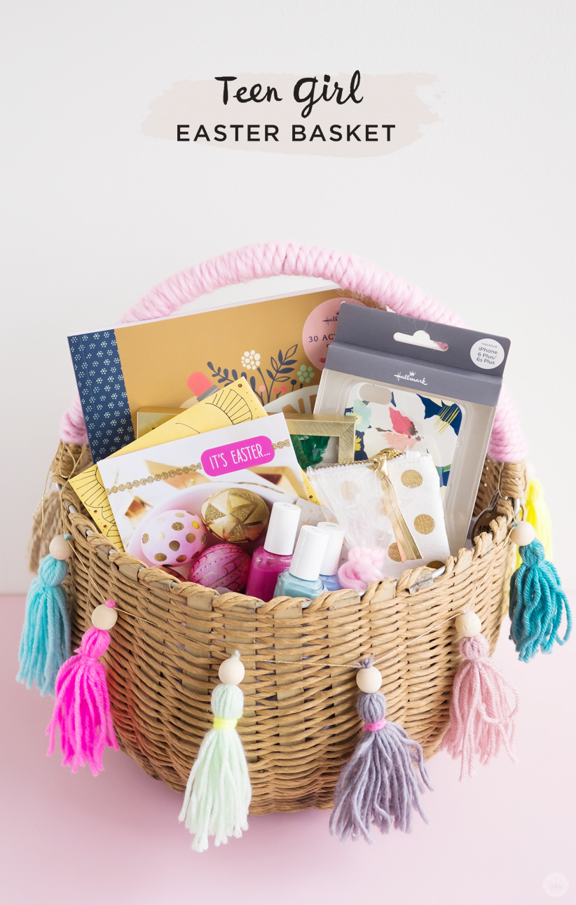 easter basket ideas for kids from toddlers to teens think make share