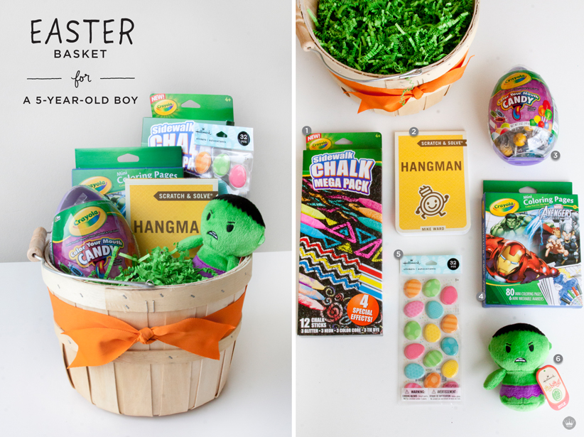 Easter basket ideas for kids thinkkeare easter basket round up thinkmakeshareblog negle