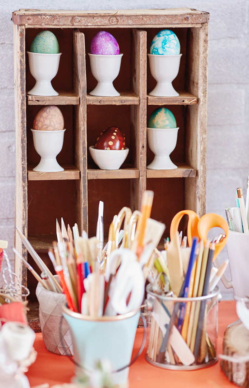 Easter decoration do-it-yourself: ideas and workshops